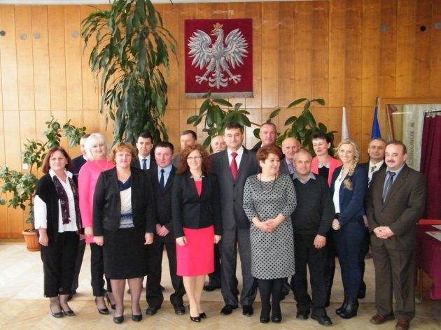 Inauguracyjna Sesja Rady Gminy Konopnica wkadencji 2014 - 2018