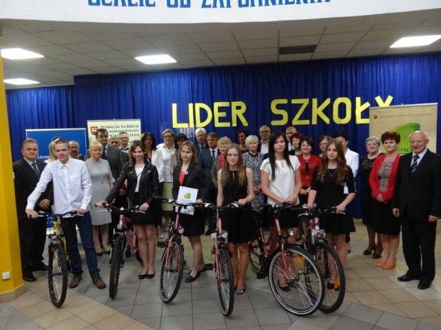 Uczennica Publicznego Gimnazjum wKonopnicy laureatką konkursu  LIDER SZKOŁY 2015