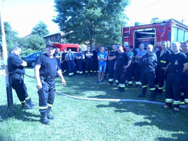 Manewry strażackie wRychłocicach
