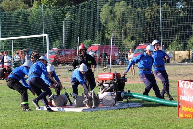Powiatowe Zawody Sportowo - Pożarnicze wOsjakowie