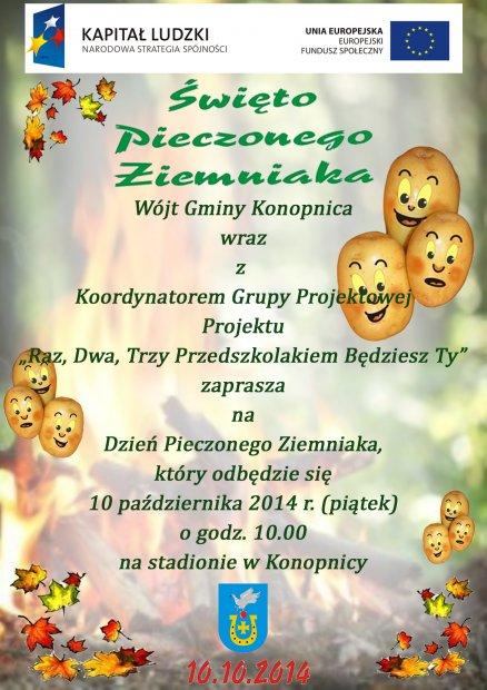 Zaproszenie na Święto Pieczonego Ziemniaka