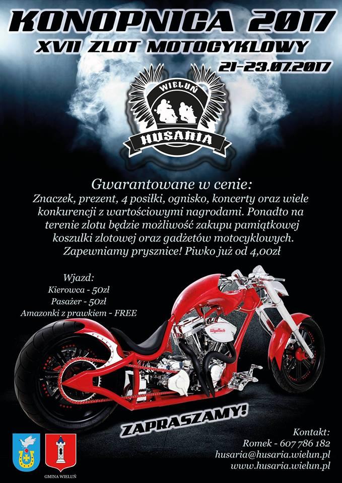 Zaproszenie na Zlot Motocyklowy